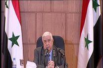 المعلم: تروریسم دشمن مشترک سوریه و مصر است