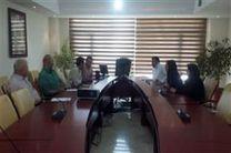 جلسه شورای اداری در سالن جلسات دفتر شهردار ناحیه 4