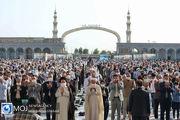 اقامه نماز عید سعید فطر در مسجد مقدس جمکران
