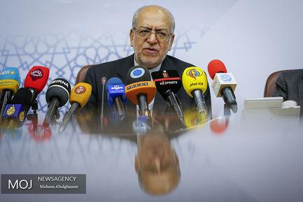 نشست خبری وزیر صنعت، معدن و تجارت