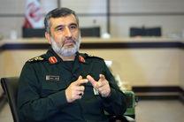 سردار حاجی زاده: سپاه به عنوان بزرگترین قدرت منطقه از دولت پشتیبانی می کند