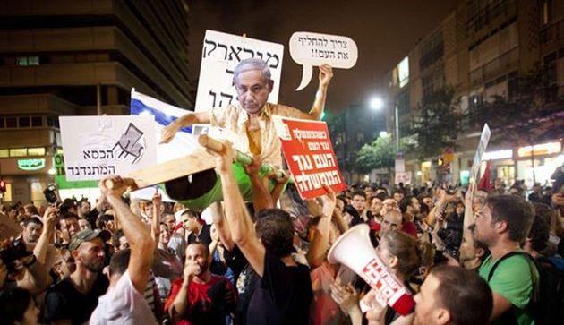 مردم اسرائیل خواستار برکناری نتانیاهو شدند