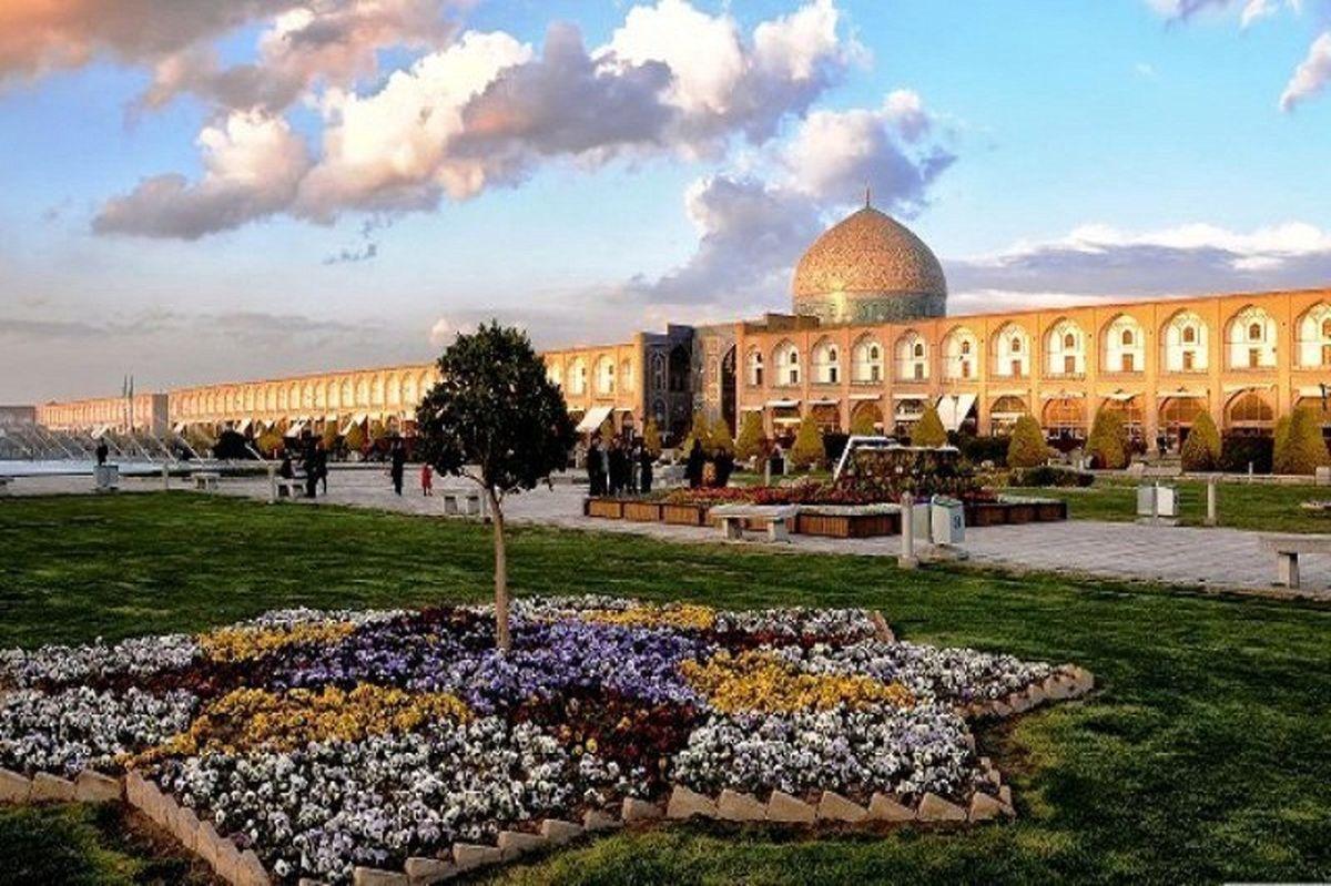 کیفیت هوای اصفهان در وضعیت زرد / شاخص کیفی هوا 86