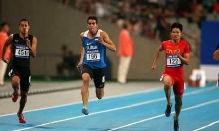 تفتیان به نیمه نهایی 100 متر قهرمانی آسیا راه یافت