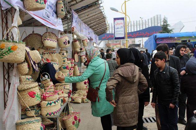 برگزاری نوروز بازار در منطقه آزاد انزلی