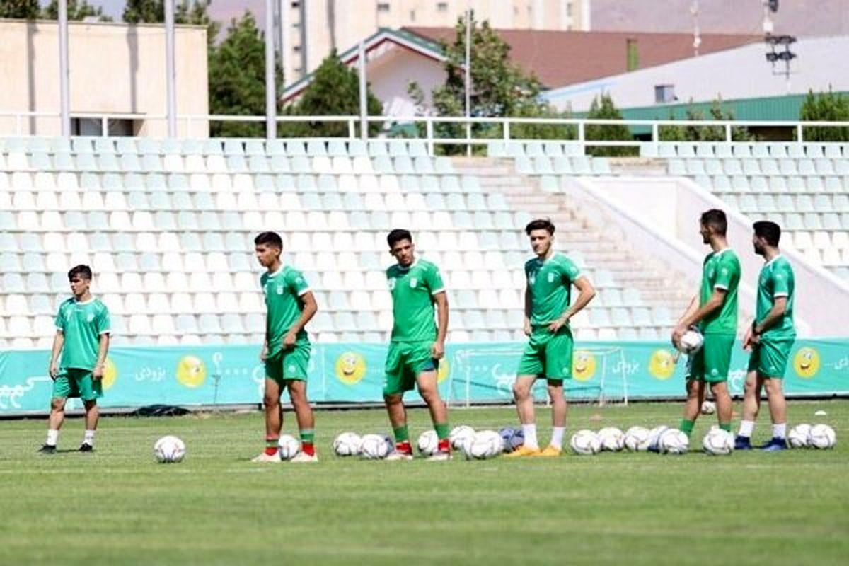٢٣ بازیکن تیم فوتبال جوانان ایران برای بازی با تاجیکستان مشخص شدند