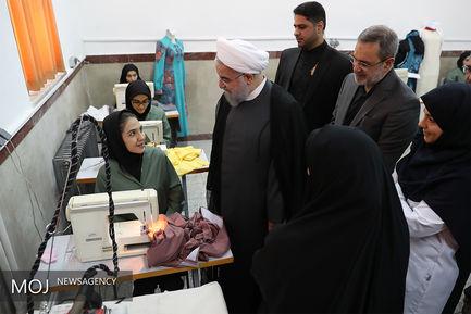 آغاز سال تحصیلی با حضور رییس جمهور در هنرستان شهید مدرس