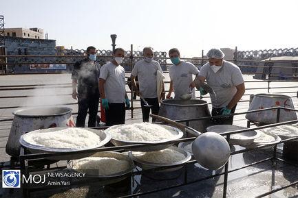 پخت و توزیع ۱۴۰۰۰ طعام ویژه عید غدیر