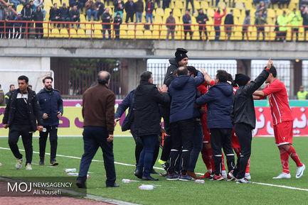 دیدار تیم های فوتبال سپید رود رشت  و سایپا