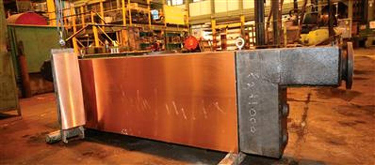 بومی سازی صفحات مسی قالب ریختهگری شرکت فولاد مبارکه