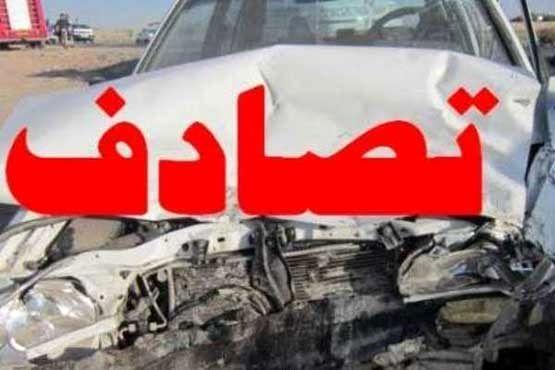 هشت مصدوم براثر حادثه رانندگی در خمینی شهر
