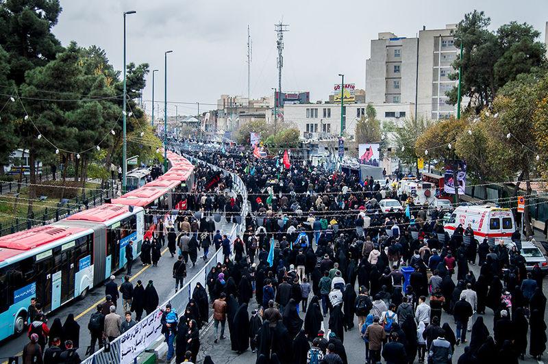تمهیدات ترافیکی پلیس برای پیاده روی اربعین در تهران