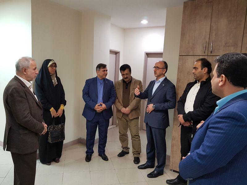 بازدید نماینده مردم رشت در مجلس از تامین اجتماعی