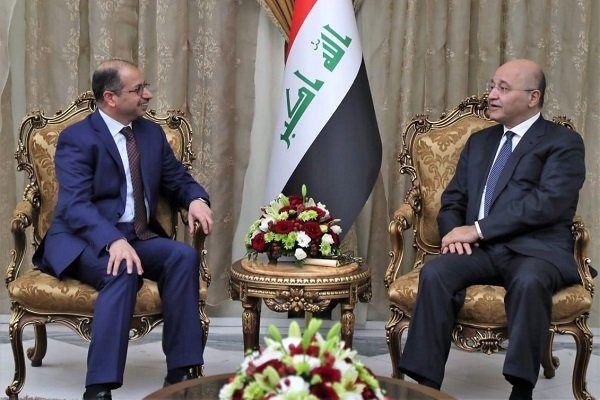 رایزنی دو مقام عراقی درباره تحولات سیاسی عراق