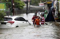 سیل در پایتخت اندونزی 4 کشته برجا گذاشت