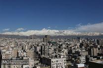 کیفیت هوای تهران در 18 اسفند 97 پاک است