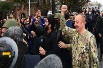 «الهام علی اف» از مناطق آزاد شده در جنگ قره باغ بازدید کرد