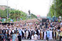 گردهمایی ده ها هزار تن از شیعیان پاکستان در اسلام آباد + عکس