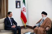 سفر بشار اسد به ایران نشانه قدرت مقاومت در منطقه بود