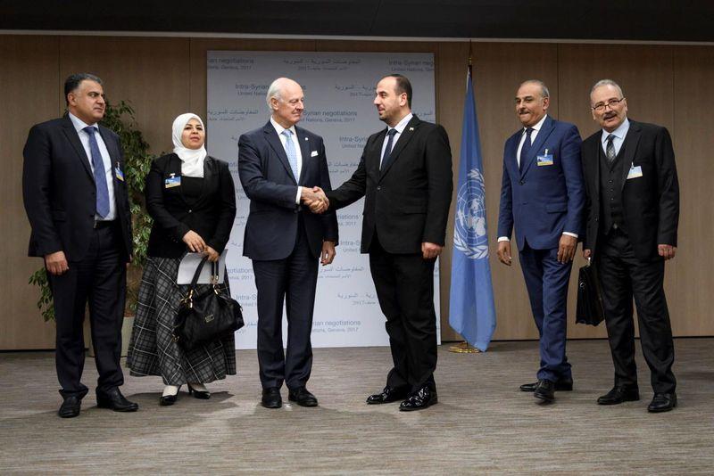 مذاکره مستقیم طرف های سوری
