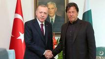 رایزنی تلفنی نخست وزیر پاکستان و رئیس جمهور ترکیه در مورد سوریه