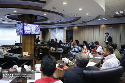 جلسه فرماندهی ستاد بحران جمعیت هلال احمر