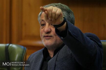 یکصد و بیست و چهارمین جلسه شورای شهر تهران/محسن هاشمی رفسنجانی