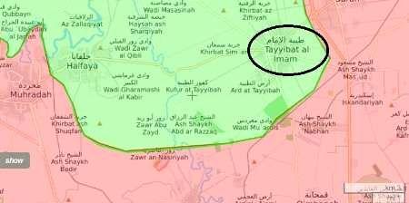 شهرک طیبه الامام در شمال استان حماه آزاد شد