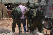 Zionist Regime forces arrested 7 Palestinians in West Bank raids
