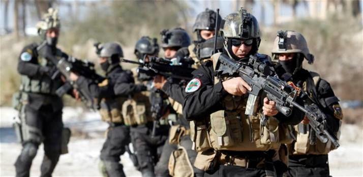 حمله نیروهای امنیتی عراق به تروریست های داعشی در استان انبار