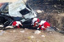 جزئیات سوختن راننده تریلی در آتش/سرنشینان 2 خودرو دیگر مصدوم هستند