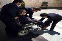 نظارت پروژه های مناسب سازی شهری شهرداری یزد توسط معلولان