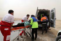 امدادرسانی راهداری استان اصفهان به 3 شهروند آسیب دیده در تصادف