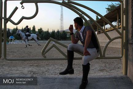 مسابقات پرش با اسب جام آزمون