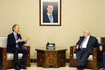 حمایت سازمان ملل از راهکار حل بحران سوریه ضروری است