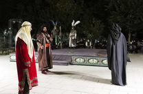 تعزیه شهادت امام حسین (ع) مقابل تالار وحدت اجرا می شود
