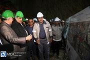 بازدید شهردار از پروژه های عمرانی شهر تهران