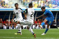 نتیجه بازی برزیل و کاستاریکا در جام جهانی/ پیروزی شیرین برزیل مقابل کاستاریکا