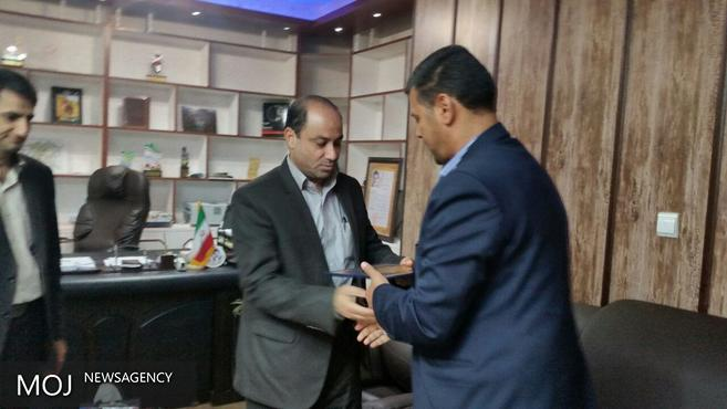 مراسم تودیع و معارفه مدیر مخابرات دشت آزادگان برگزار شد