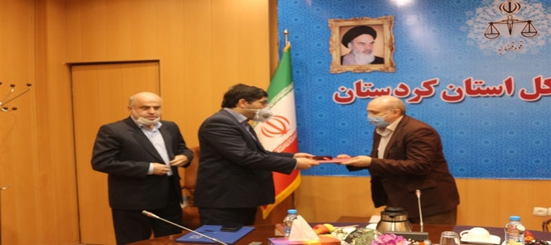 مسئول جدید واحد ارزشیابی قضات استان کردستان معرفی شد