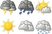 کاهش دمای هوا در برخی مناطق کشور بین ۵ تا ۸ درجه سانتیگراد