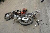 فوت راکب و سرنشین موتور سیکلت در تصادف با خودروی سواری
