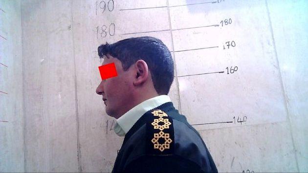 ماشین دزدی مرد سابقهدار با لباس پلیس