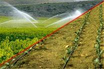 بیش از ۵ هزار کیلومتر آبیاری نوین در مزارع و باغات گلستان اجرا میشود