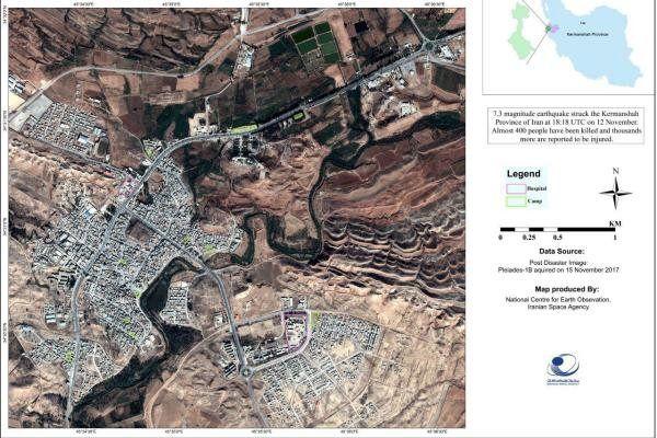 میزان جابجایی پوسته زمین در مناطق زلزله زده اعلام شد