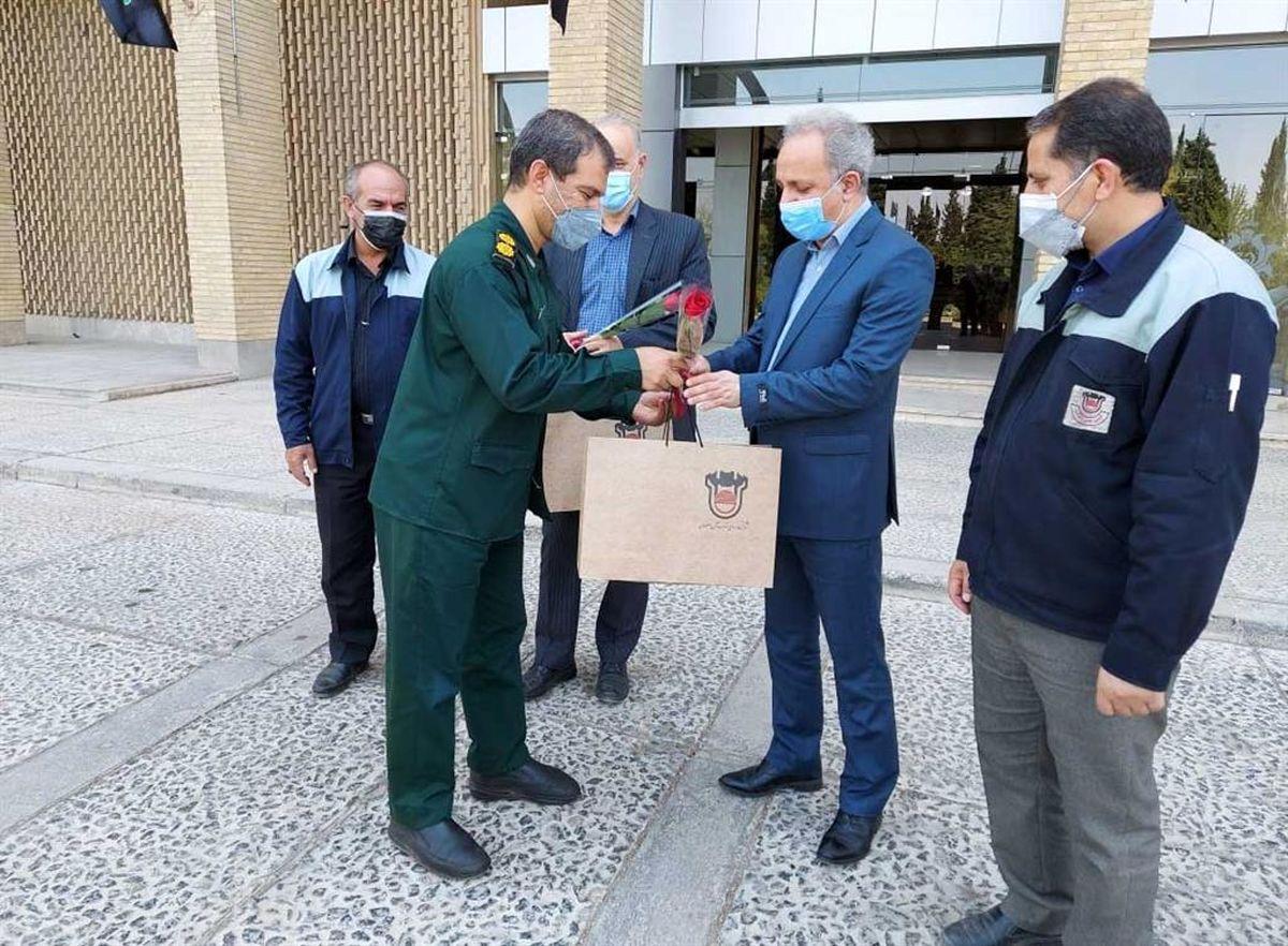 تقدیر از پزشکان پرتلاش بیمارستان شهید مطهری ذوب آهن اصفهان