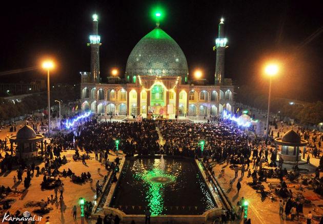 برپایی محفل ترتیل خوانی قرآن کریم در امامزاده آقا علی عباس(ع) در ماه مبارک رمضان