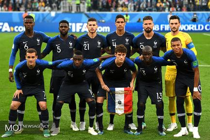 جام جهانی فوتبال - دیدار تیم های فرانسه و بلژیک