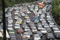 محدودیت های ترافیکی محور هزار - چالوس در 13 فروردین