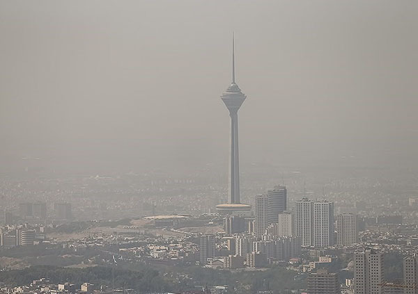 هوای پایتخت در وضعیت هشدار